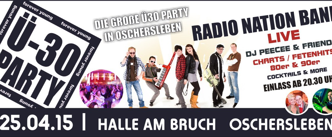 Ü30 Party in Oschersleben